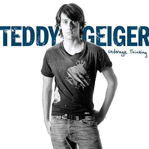 Original album cover of Underage Thinking by Teddy Geiger