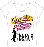 Charlie & The Chocolate Factory - Girl's T-Shirt ウォンカと子供たち