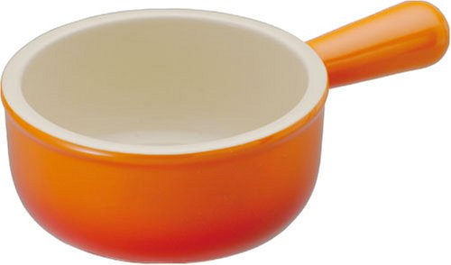 Le Creuset ミニ・ソースパン オレンジ(FLAME) 910016-09-09
