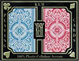 Kem Poker Wide Playing Cards Double Deck - Jumbo Indicies