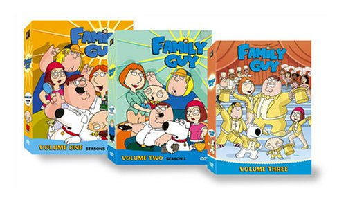 Family Guy: Vol. 1-3 [Seasons 1-4] DVD