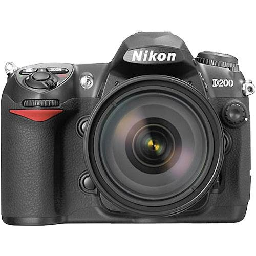 NIKON D200 10.2 Megapixel Digital SLR Camera Set