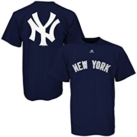 Adidas New York Yankees Navy Prime Time T-shirt