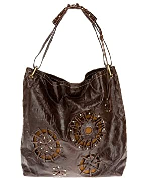 bebe : Hand Laced Leather Tote from bebe.com
