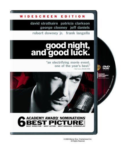 Good Night & Good Luck DVD