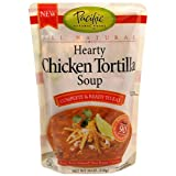 Pacific Foods Hearty Chicken Tortilla Soup, 18-Ounce Pouches (Pack of 9)