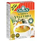 Orgran Garden Vegetable Soup, 2-Count Boxes (Pack of 12)