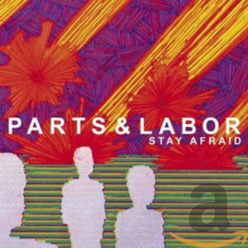 Original album cover of Stay Afraid by Parts & Labor