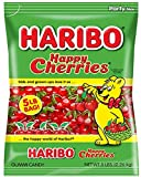 Haribo Gummi Candy, Happy Cherries, 5- Pound Bag