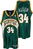 Ray Allen Seattle Supersonics Authentic Green NBA Jersey