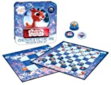 Rudolph the Red-Nosed Reindeer Checkers & Tic Tac Toe