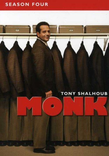 Monk - Season Four DVD