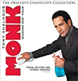 Monk: The Obsessive Compulsive Collection - Seasons One - Four