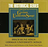 Skivomslag för Erich Kunz Sings German University Songs