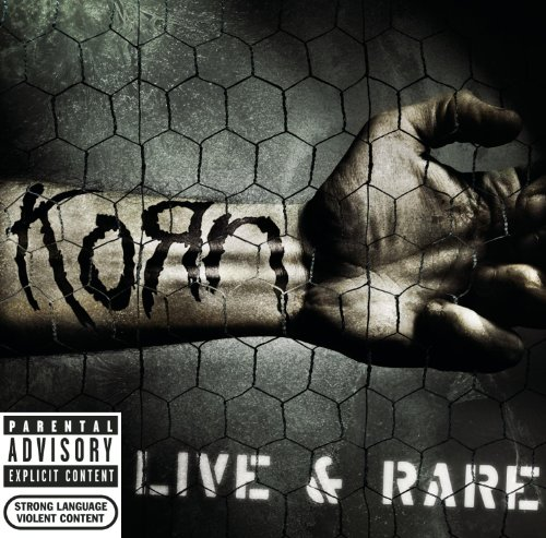 Live &amp; Rare by Korn album cover
