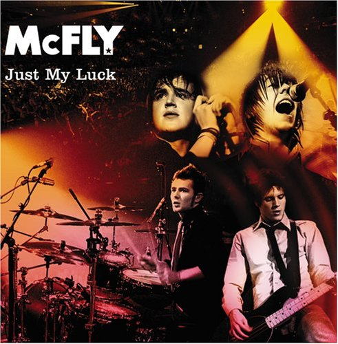 Original album cover of Just My Luck by McFly