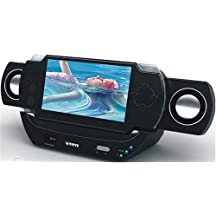 Portable Speaker system for PlayStation Portable - PSP Portable Speaker System with Docking Station from Kinyo