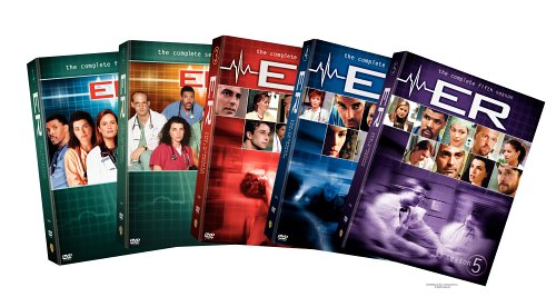 ER - The Complete First Five Seasons [26pc] DVD