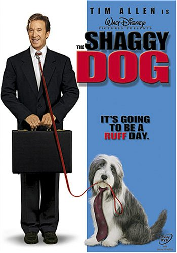 The Shaggy Dog DVD