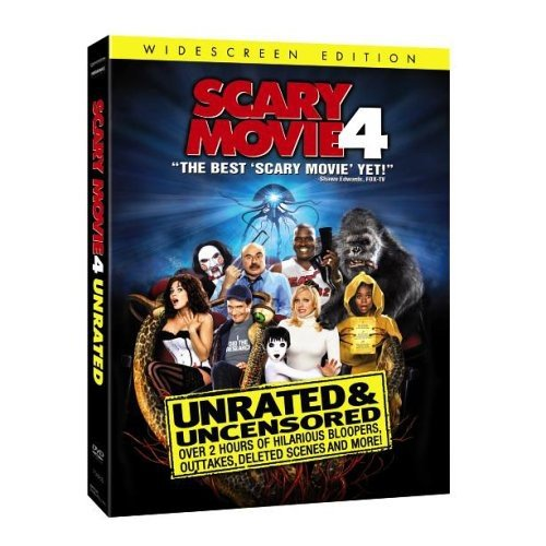 Scary Movie 4  DVD