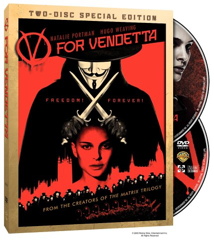 V for Vendetta  DVD