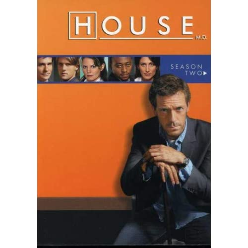 House Md Season 6 Dvd Cover. HOUSE M.D. SEASON TWO