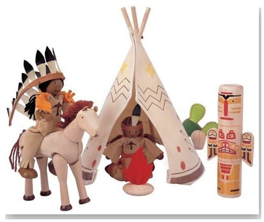 Plan Toys Native American Set