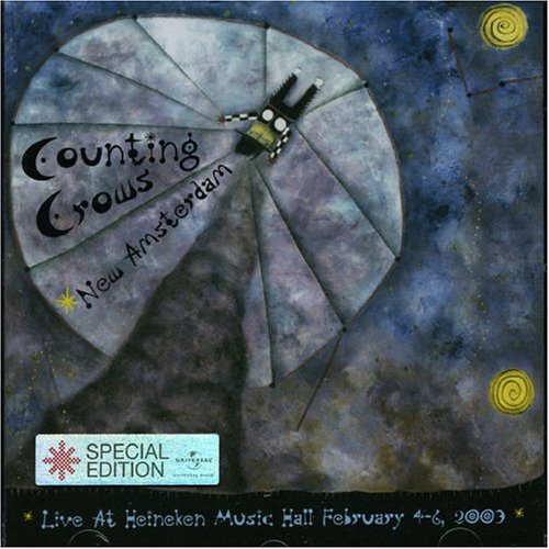 Counting Crows - New Amsterdam: Live at Heineken Music Hall February 4-6 2003 - Zortam Music