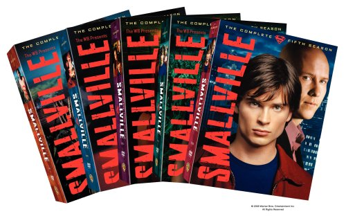 Smallville - The Complete First Five Seasons DVD