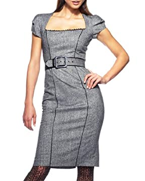 bebe.com : Belted Tweed Dress :  menswear dress sexy tweed