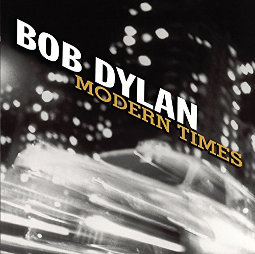 Original album cover of Modern Times by Bob Dylan