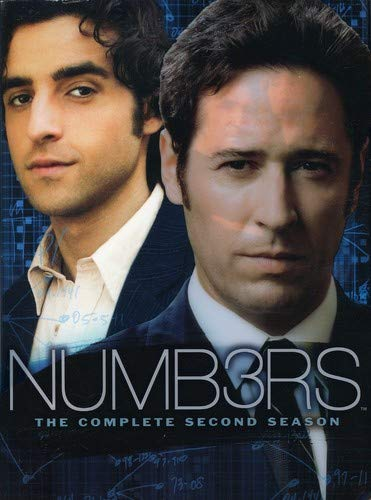Numb3rs - The Complete Second Season DVD