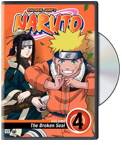 Naruto, Vol. 4 - The Broken Seal DVD