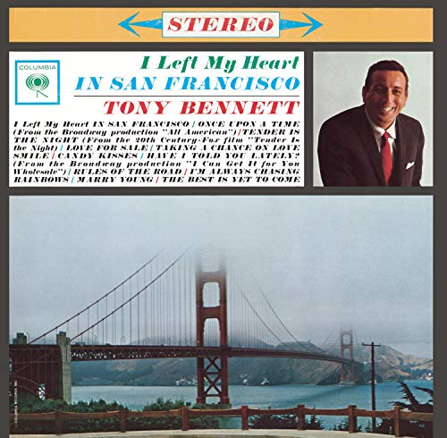 TONY BENNETT - I Left My Heart in San Francisco - Zortam Music