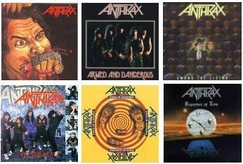 ANTHRAX - Fistful Of Anthrax - Zortam Music