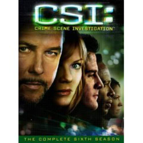 C.S.I. Crime Scene Investigation - The Complete Sixth Season DVD