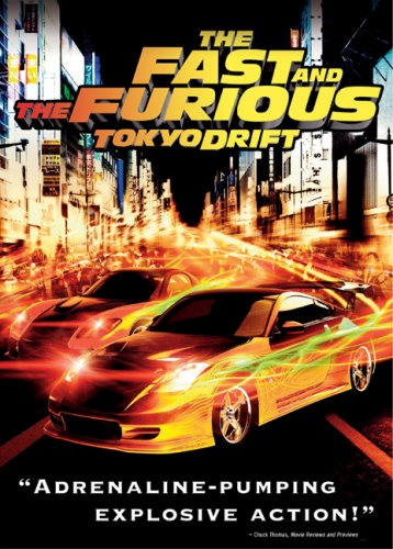 The Fast and the Furious: Tokyo Drift  DVD