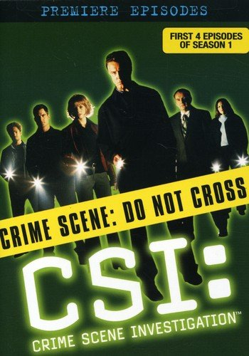 C.S.I. Crime Scene Investigation - The Premiere Episodes  DVD