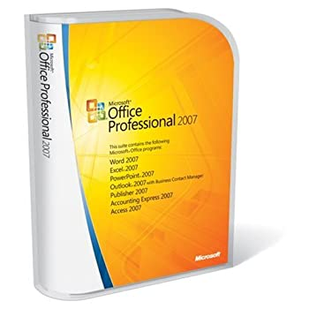 Microsoft Office Professional 2007 (WIN AE- Multi-User 3-Pack)