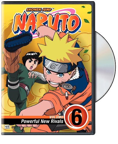 Naruto, Vol. 6 - Powerful New Rivals DVD