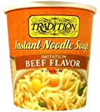 Tradition Imitation Beef Flavor Instant Noodle Soup 2.29 (Pack of 12)