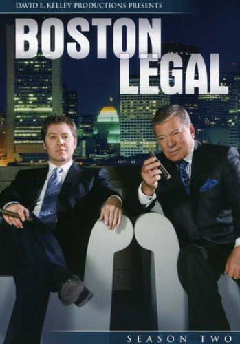 Boston Legal - Season 2 DVD