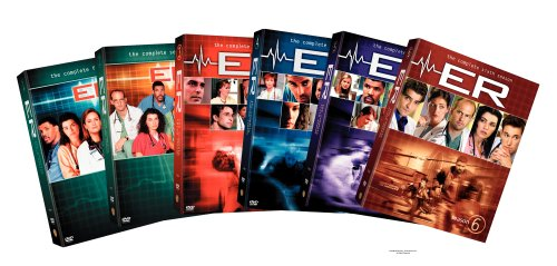 ER - The Complete First Six Seasons DVD
