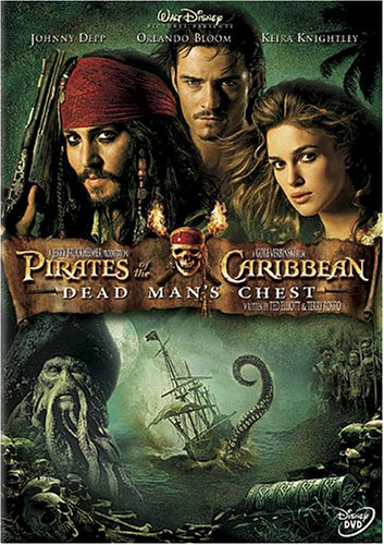 Pirates Of The Caribbean - Dead Mans Chest  DVD