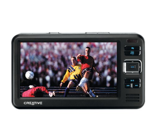 Creative Zen Vision W 30 GB Widescreen Multimedia Player (Black)