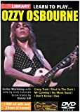 Lick Library - Learn to Play: Ozzy Osbourne