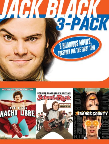 Jack Black 3 Pack  DVD