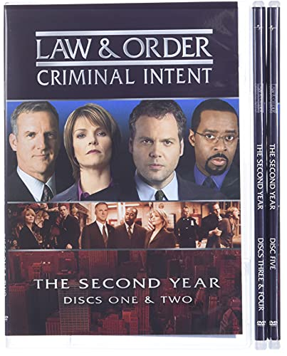 Law & Order Criminal Intent - The Second Year DVD