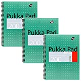 Product Image of Pukka Pads A4 Metallic Jotta Wirebound Notebook (Pack of 3)