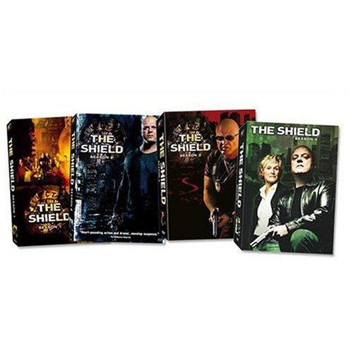 The Shield - Seasons 1-4 DVD